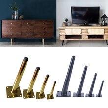 Мебель ноги Наклонный Железный кухонный шкаф диван стол кровать