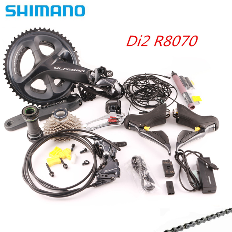 SHIMANO R8070 Di2 Groupset ULTEGRA R8070 переключатель дорожный велосипед ST + FD + RD R8050 передний переключатель задний переключатель переключения R8050