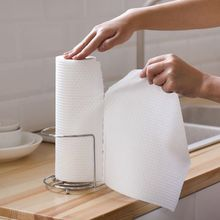 Large roll thickening rag kitchen paper kitchen paper towel napkin oil washing dish cloth non-stick oil disposable rag tea towel