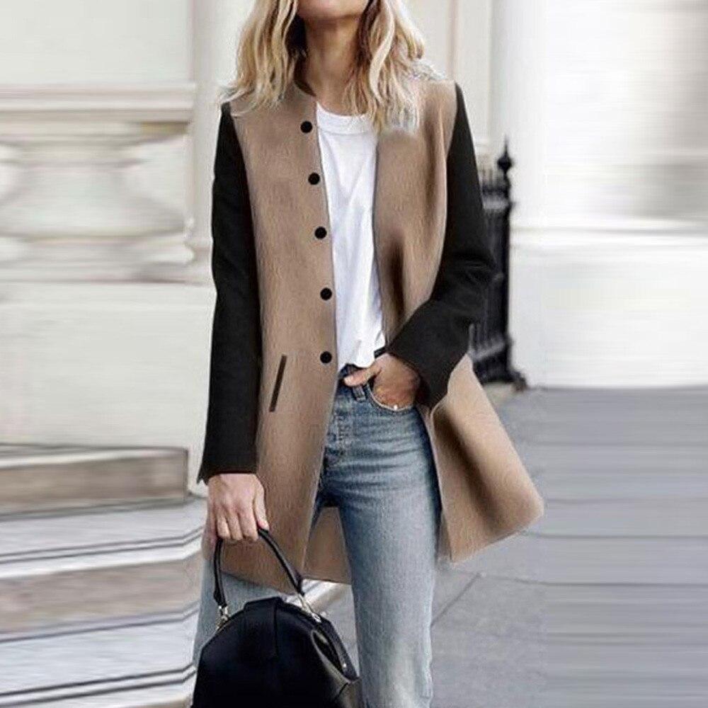 Fashion Women Casual Long Sleeve Cardigan Jacket Lady Coat Jumper Knitwear