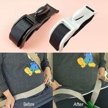 Cinto de segurança do carro ajustador para grávida conforto e segurança para as mães maternidade barriga por nascer do bebê protetor mulher condução ferramenta segurança