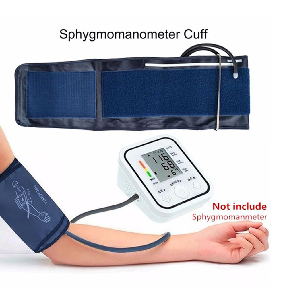Blood Pressure Cuff 22-48cm Adjustable For Digital Blood Pressure Monitor Single Tube For Sphygmomanometer Arm  Plus Cuff