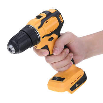 Electric Cordless Impact Drill 10mm Rechargable Electric Screwdriver Drill 18V Battery Electrical Power Tool