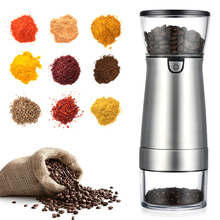 USB Electric Coffee Grinder Salt Pepper Beans Spices Nut Seed Coffee Bean Mill Machine Multifunctional Home Coffee Grinder
