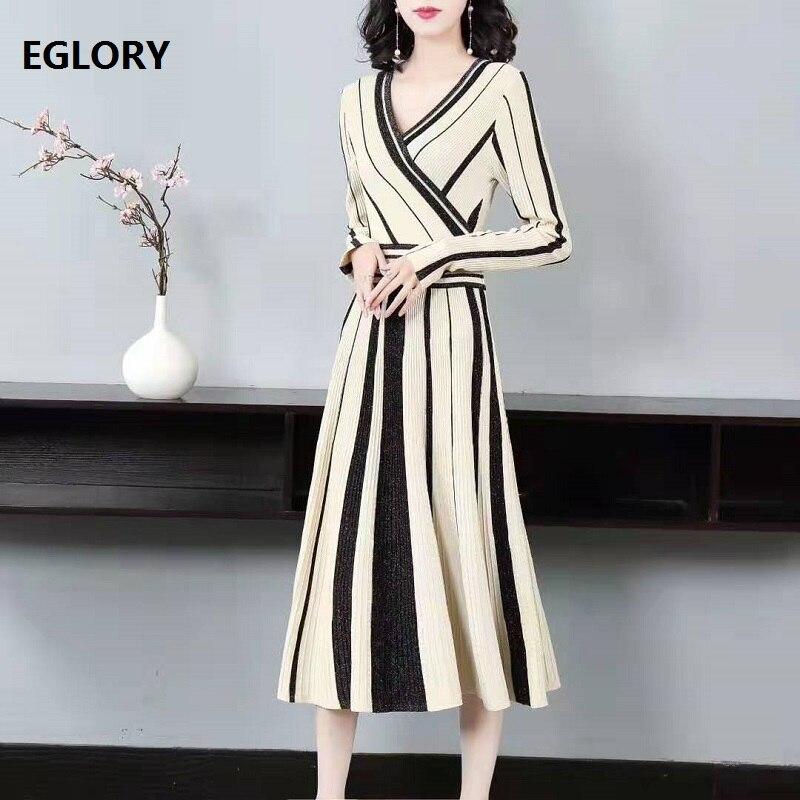 Noeud papillon élégant robe longue 2019 automne mode fête soirée femmes Sexy pure dentelle Patchwork à manches longues Maxi robe gris noir