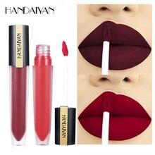 Maquillaje a prueba de agua lápiz labial líquido mate cosméticos de larga duración niebla Nude brillo de labios material barato lápiz labial labios maquillaje brillo de labios