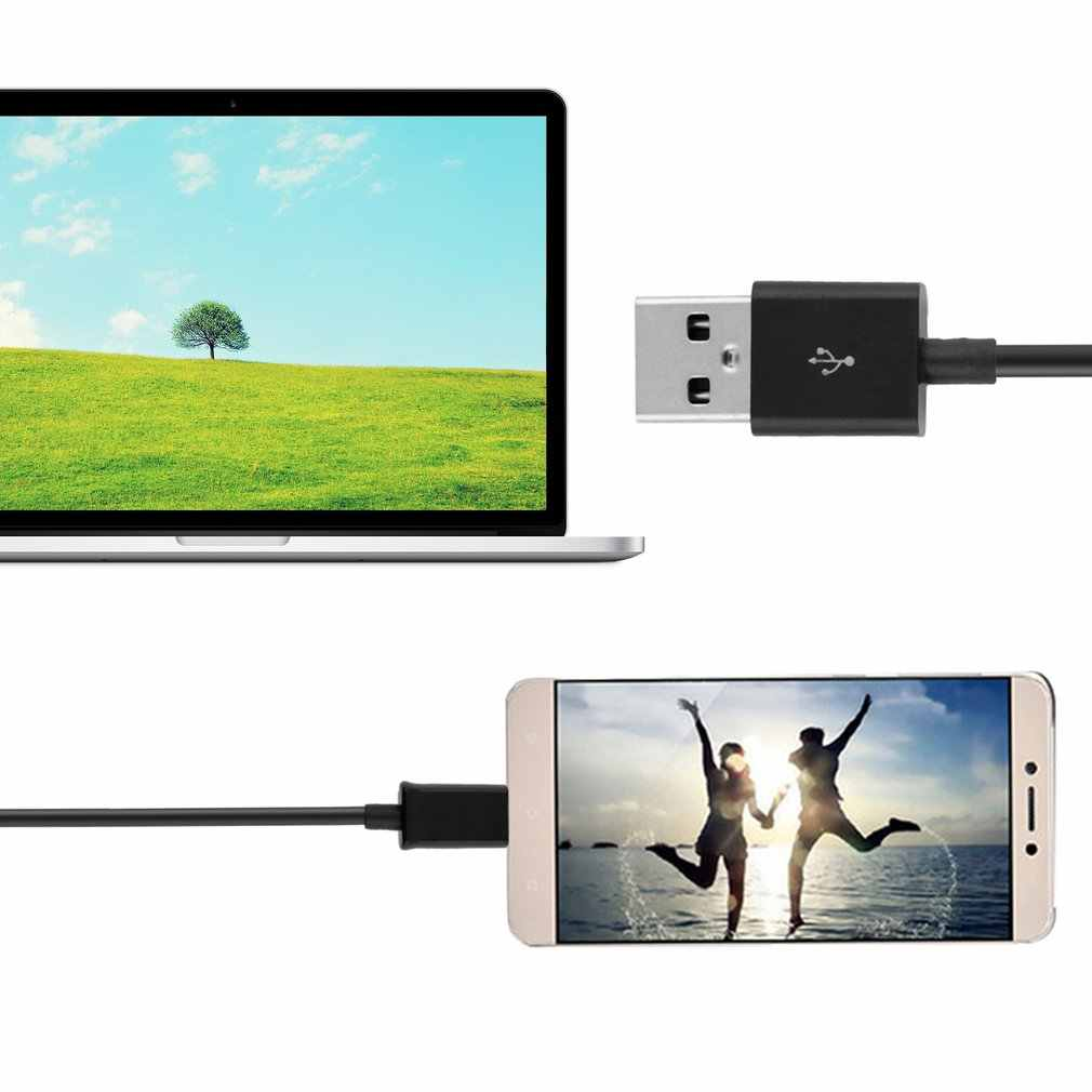 1Pcs Zwart 1M Micro USB Sync Gegevens Opladen Charger Cable Voor Samsung Galaxy S2 S3 S4