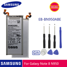 SAMSUNG Original Phone Battery EB-BN950ABE 3300mAh For Samsung GALAXY Note 8 Note8 N9500 N9508 SM-N950F Batteries + Free Tools