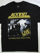 Alcatrazz – T-shirt sans mot de Rock N Roll, en direct, collection S-XXL