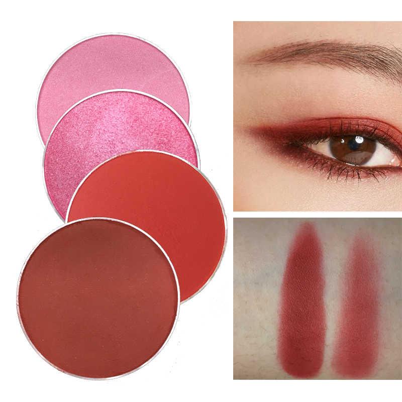 Red & Black DIY Charming INSสีแดงอายแชโดว์Glitter Pigmentกันน้ำสีชมพูMatteอายแชโดว์Beauty Make Up Cosmetic Palette