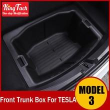 Waterproof Debris  Front Rear Trunk Storage Box For Tesla MODEL 3 Modified Exterior Decoration Accessories