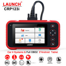 OBD2 Scanner Car-Diagnostic-Tool LAUNCH Crp123i Code-Reader Airbag-Srs At-Engine Multi-Languages