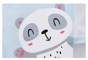 Image 5 - 18 חתיכות תינוק ילד בגדי 100% כותנה יילוד בגדי גריי קטן פנדה יילוד תינוקת בגדי תינוקות בגדי ילד סטים