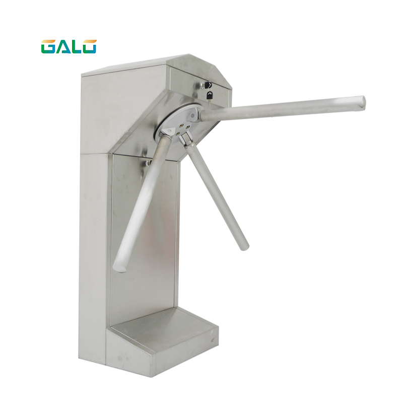 GALO Factory Price Semi-automatic Card Turnstile Price Tripod Turnstile Gate Semi-automatic Door Gyro
