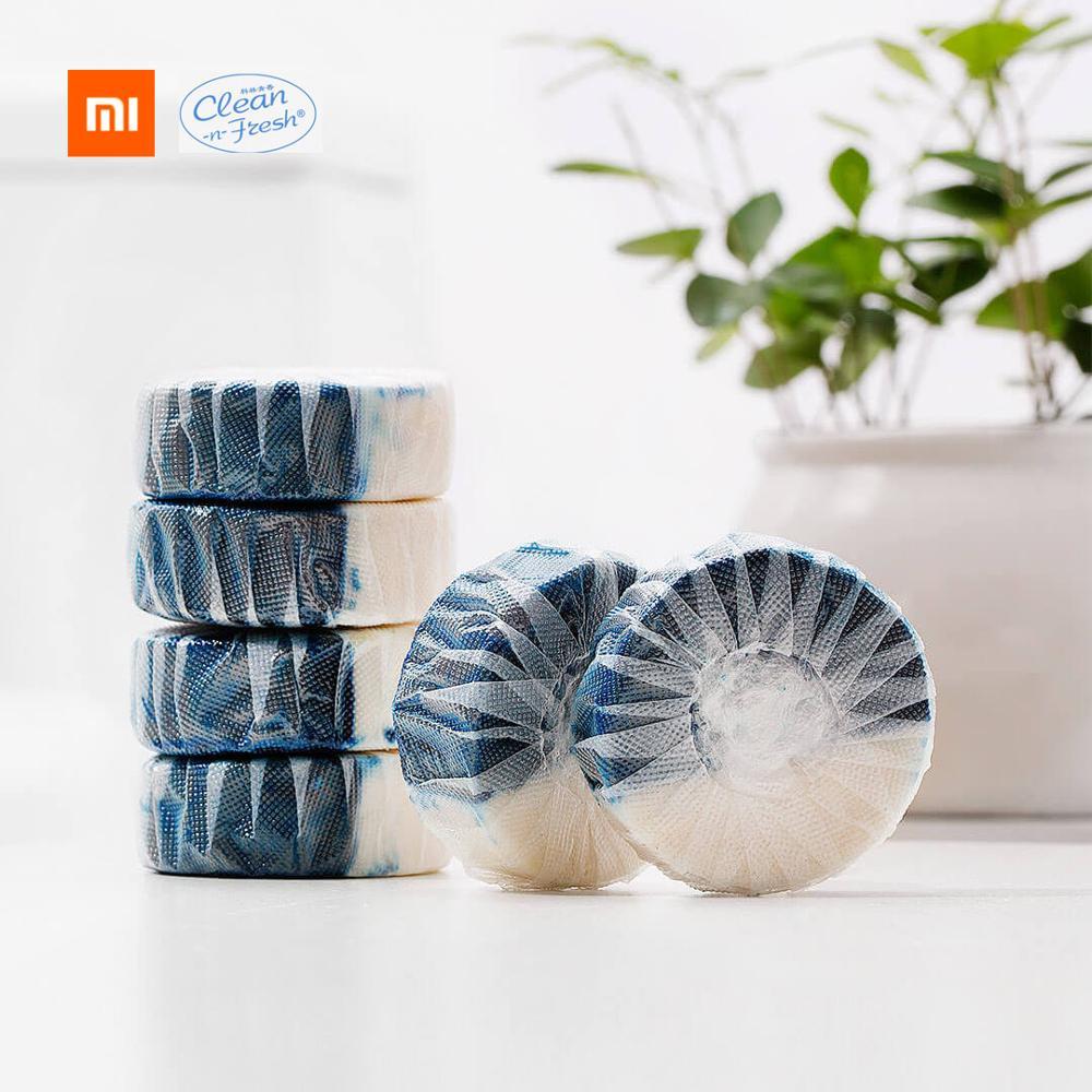 Xiaomi Mijia Clean-n-fresh-Duplo efeito Bloco de Wc Independente Embalagem de Filme Água-solúvel Aniônico Ativo fator de hidratação Profunda Limpo