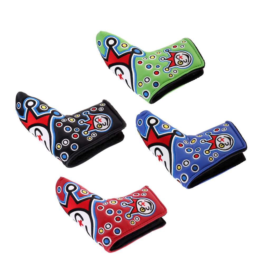 PU Leather Golf Putter Headcover Club Head Cover Perfect For Mallet Putters, Anti-Scratch And Durable