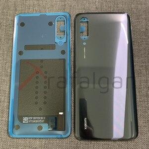Image 2 - Original NEW For Xiaomi Mi 9 Lite Back Glass Battery Cover Mi9 Lite Mi CC9 Rear Glass Door Case For Xiaomi Mi 9 Lite Back Cover