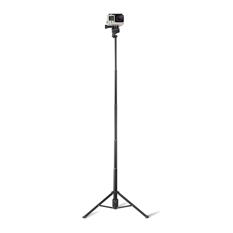 Selfie Stik Tripod, 54 Inch Extendable Camera Tripod for Cellphone and Gopro,For Compatible with IPhone Xs/Xr/Xs Max/X/8/8Plus/