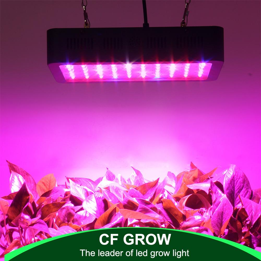 LED à spectre complet élèvent la lumière 300W 600W 1000W croissant la lampe d'intérieur hydroponique de serre LED plante tout l'éclairage de croissance d'étape