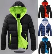 Корейская модная зимняя куртка женские парки теплая Толстая