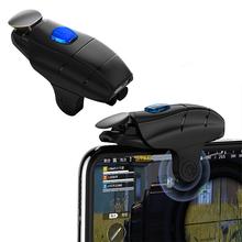 PUBG Mobile Game Controller Gamepad Shoot Trigger Aim Button L1R1 Shooter Joystick one-key fast shooting cheap CN(Origin) Game trigger Apple iPhone Plastic+Metal