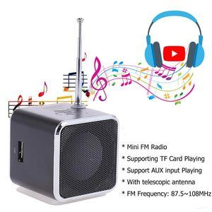 Image 3 - Ingelon แบบพกพา Mini วิทยุ FM ลำโพง LCD สเตอริโอ MP3 เครื่องเล่นเพลง Micro SD/TF/USB 8GB การ์ด Dropshipping