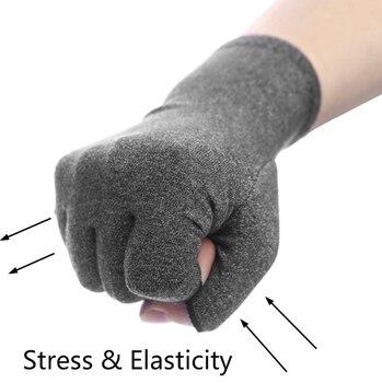 GH  Pair Compression Arthritis Gloves Wrist Support Cotton Joint Pain Relief Hand Brace Women Men