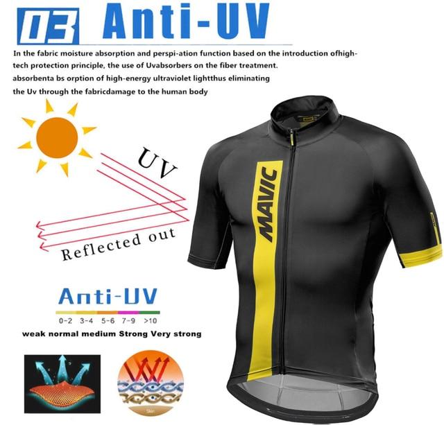 Mavic 2019 conjunto para ciclismo em jérsei mtb, camiseta e macacão para ciclismo em jérsei roupas de ciclismo camisa para competição de ciclismo traje para andar de bike 4