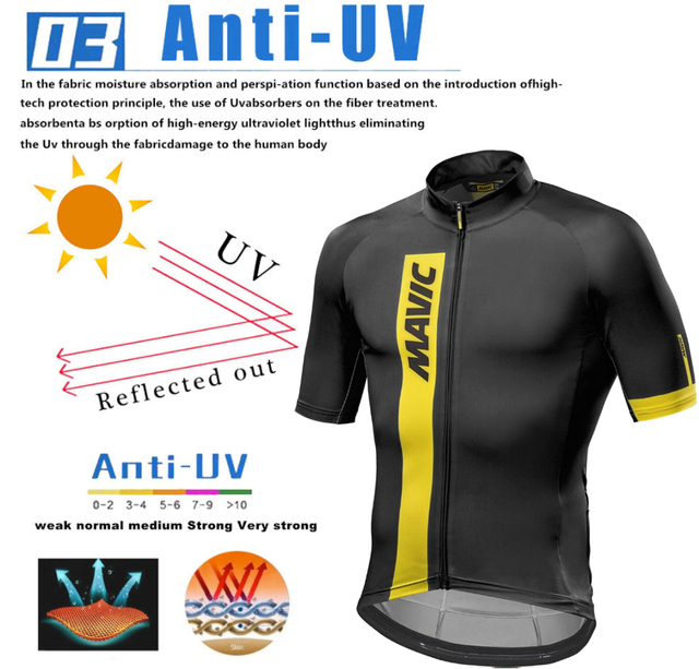2019 mavic Bicycle Wear MTB Cycling Clothing Ropa Ciclismo Bike uniform Cycle shirt Racing Cycling Jersey Suit