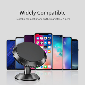 FPU Magnetic Car Phone Holder Stand For iPhone 11 Pro Max Magnet Mount Car Holder For Phone in Car Cell Mobile Phone Support GPS 3
