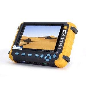 Новый 5-дюймовый TFT ЖК-дисплей HD 8MP TVI AHD CVI CVBS Аналоговый тестер камеры безопасности монитор в одном CCTV тестер VGA HDMI вход IV8W