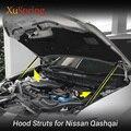 Auto Motorhaube Haube Strebe Bars Unterstützung Buffer Heben Hydraulische Stange Keine Driling/Schweißen Für Nissan QASHQAI J11 Rogue Sport 2013-2019