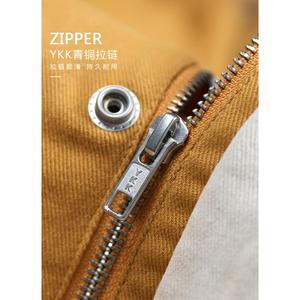 Image 2 - SIMWOOD 2020 spring New  Fashion Jacket Men Shorts Casual Jackets 100% Cotton Coats Pocket High Quality Brand Clothing 190092