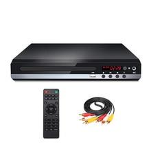 Lecteur DVD HD pour télévision numérique, Support USB DVD vidéo/DVD + RW CD Audio/VCD/SVCD jpeg/MP3/WMA/disque, système de cinéma domestique