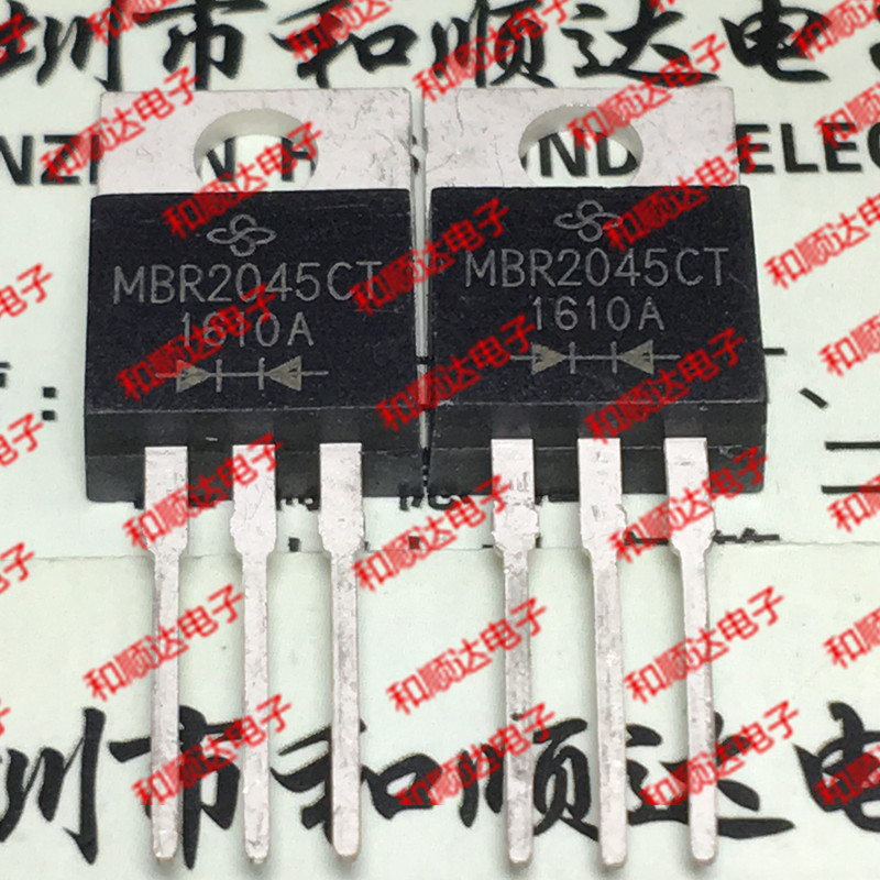 10pcs/lot MBR2045CT Brand new original stock TO-220 45V 20A