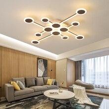 Aluminum Modern led Ceiling chandeliers For livingroom Nordic Aluminum Chandelier lighting Creative lustres para sala de jantar цена 2017