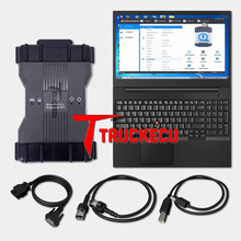 T420 laptop installed mb xentry das wis epc+VXDIAG C6 MB multiplexer star c6 for benz diagnostic scanner replace sd c4 c5