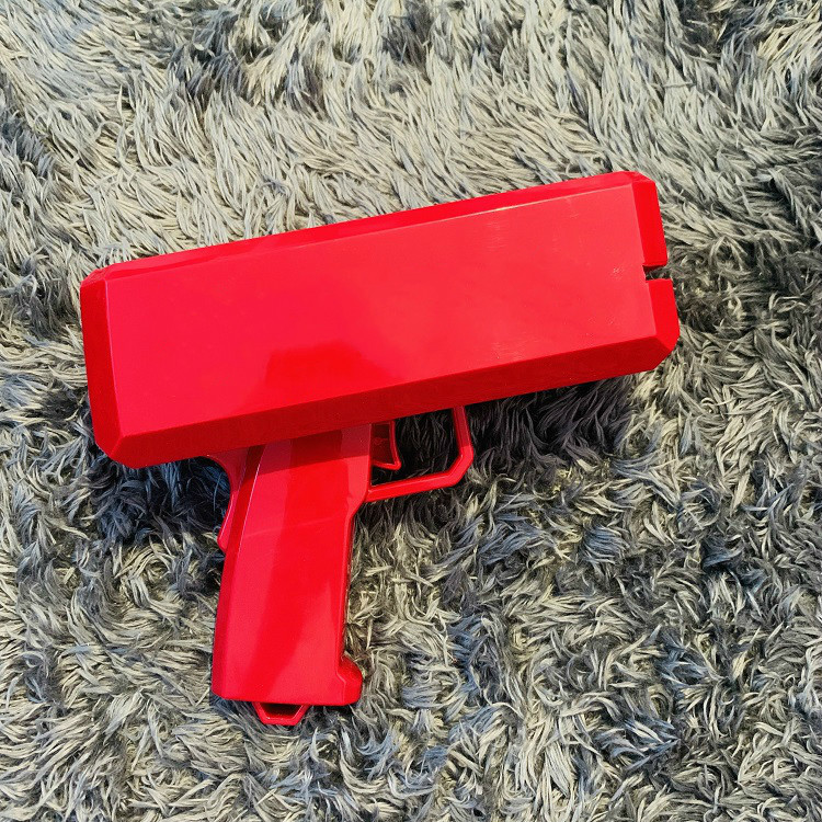 Pink Money Gun Gold Cash Cannon Plastic Electric Gun Spray Make It Rain Money Gun Birthday Party Toys Outdoor Fun Toy