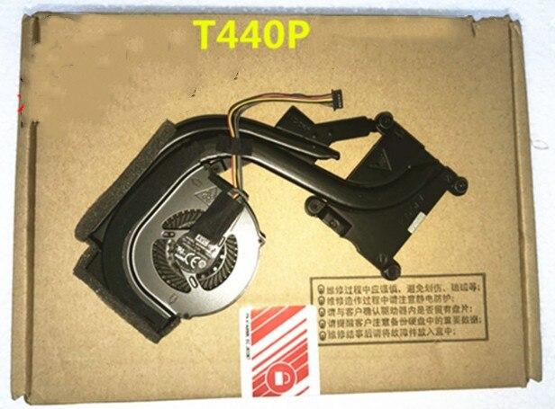 New Original For Lenovo Thinkpad T440P Cooling Heatsink With Fan