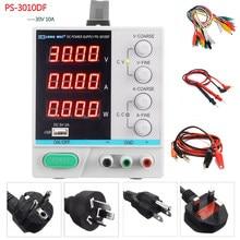 LW – alimentation électrique DC 30V, 10a, affichage à 4 chiffres de haute précision, réparation de charge USB, commutation d'alimentation de laboratoire