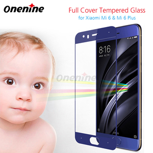 Image 2 - Onenine 4D Carving Tempered Glass for Xiaomi Mi 6 Full Cover Screen Protector 3D Curved 9H Toughened Film for Xiaomi Mi6 Plus