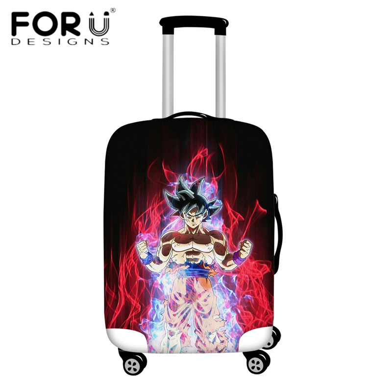 FORUDESIGNS/Дорожный эластичный Чехол для багажа Saiyan Goku Vegeta, защитный чехол для чемодана 18-32 дюймов - Цвет: HMA157