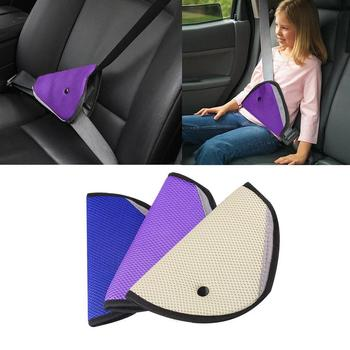 Car Safe Seat Belt Adjuster Adjust Device Triangle Baby Child Protection Baby Safety Car Safety Belt Protector Car Accessories image