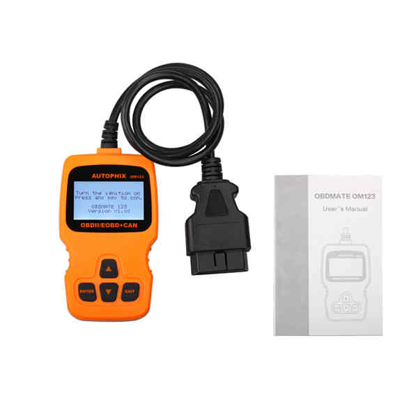OBD MATE OBDII OM123 Car Code Reader Auto Diagnostic Scan Tool for 2000 or later US European and Asian OBD2 Protocol