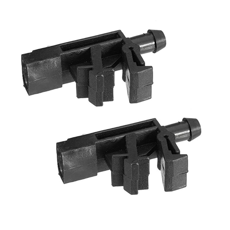 2pcs Front Windscreen Washer Jet Nozzle Fit For Peugeot 406 605 OE#6438.89 6438.