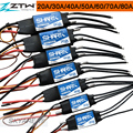 ZTW Shark 20A 30A 40A 50A 60A 70A 80A BEC Waterproof Brushless ESC For Boat With Water-cooling