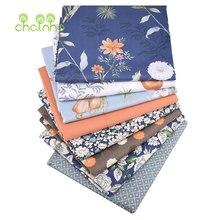 Серия грушек и цветов саржевая хлопчатобумажная ткань с принтом