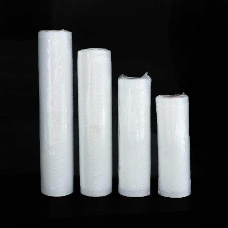 2 Rolls gıda vakum paketleme çantası için vakumlama makinesi vakumlu saklama torbaları gıda taze uzun süreli 12/15/20/25/28cm * 500cm