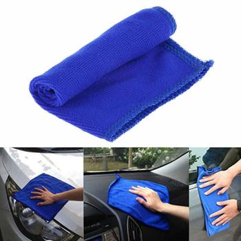 20*20cm Soft Microfiber Cloths Car Towel Clean Face Cleaning Fine Dirt Kitchen Hair Cloth Towel Ultra Towel Cleaning L7Z9 image