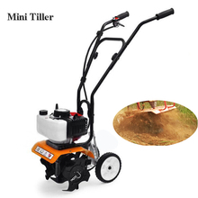 Small Tillage Machine agricultural tool Tiller Garden Gasoline Engine Walking Rotary Soil Loosening farm Equipment